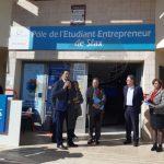 Sfax : Inauguration du Pôle de l'Etudiant Entrepreneur à l'ISAAS
