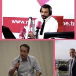Mejdi Ayari Responsable projets à l'AUF et Walid BARHOUMI directeur du Pôle Etudiant Entrepreneur de Carthage invités à la Radio RTCI (Tunisie)